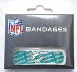 Miami Dolphins Waterproof Plasters, 40 per box